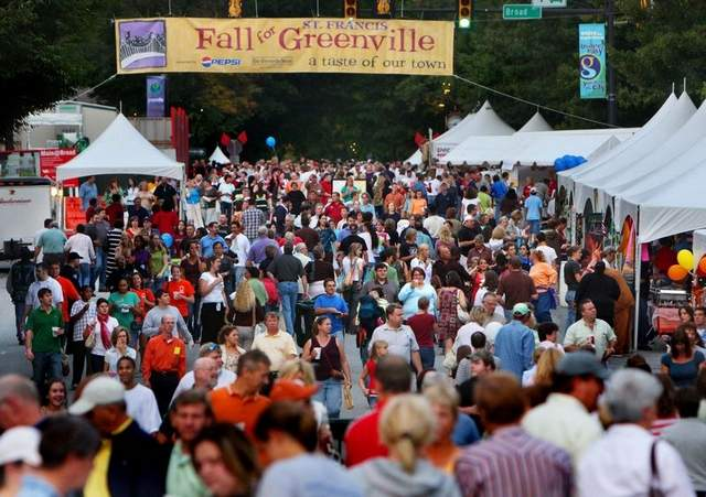 Photo Credit: http://greenvillesouthcarolinahome.com/event-schedule-fall-for-greenville/