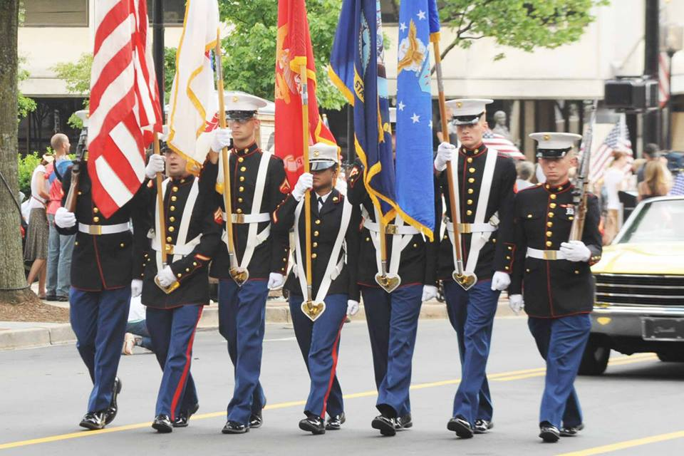 Photo credit: Facebook, Greenville Armed Forces Day Parade